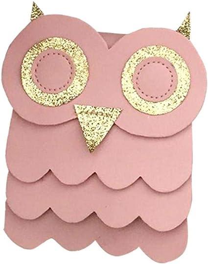 sacchetti regalo gufo/ /rosa