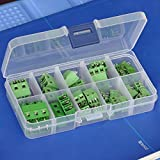 Electronics-Salon PCB Universal Screw Terminal Blocks Assortment Kit.