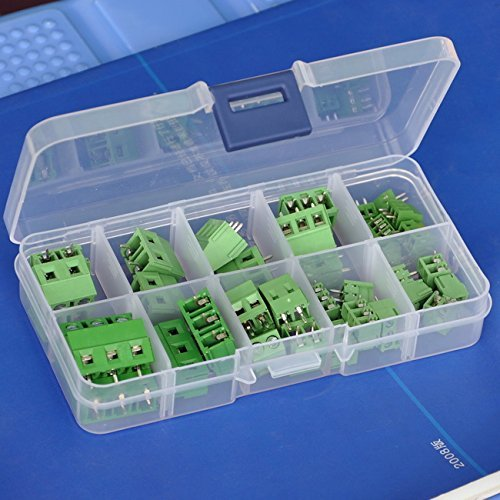 (Electronics-Salon PCB Universal Screw Terminal Blocks Assortment Kit.)