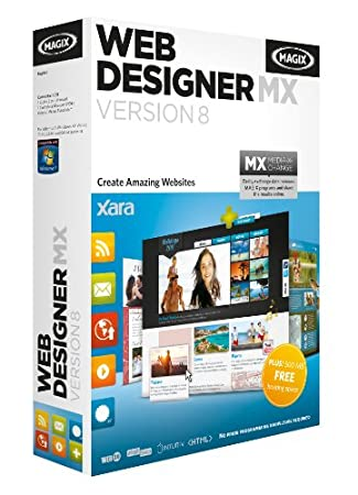Xara Web Designer MX