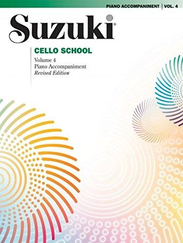 Suzuki Cello School Piano Acc, Vol. 4