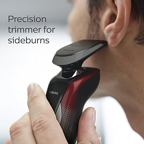 Philips Norelco Special Edition Star Wars Dark Side Wet & Dry Electric Shaver, SW9700/83, with Precision Trimmer by Philips Norelco (Image #4)