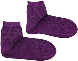 Women Mulberry Silk Crew Socks Ankle Socks Four Seasons