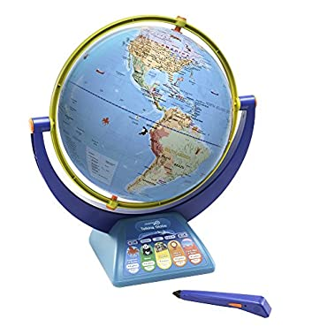 Educational Insights GeoSafari Jr. Talking Globe Featuring Bindi Irwin Learning Toy