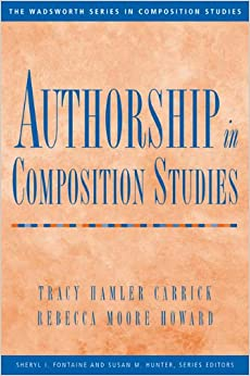 Book Authorship in Composition Studies (Wadsworth Series in Composition Studies)