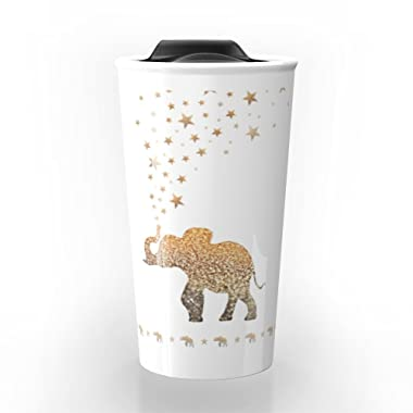Society6 ELEPHANT Travel Mug 12 oz