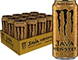 Java Monster Mean Bean, Coffee + Energy Drink, 15 Ounce (Pack of 12)