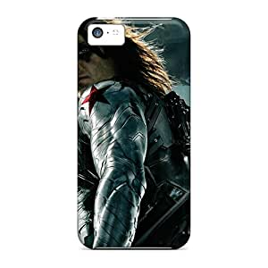Shockproof Hard Phone Case For Iphone 5c (wpw3323KgTr) Provide Private Custom Fashion The Winter Soldier Pattern