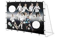 4UniQ´s Offizielles DFB-Lizenzprodukt 7-Wilde Fussballtorwand für 213cm...