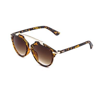 Sonnenbrille TWIG GAUGUIN Verspiegelt Herren/Damen (Schwarz) adxD56