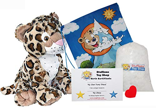 Make Your Own Stuffed Animal Charlie the Cheetah 16