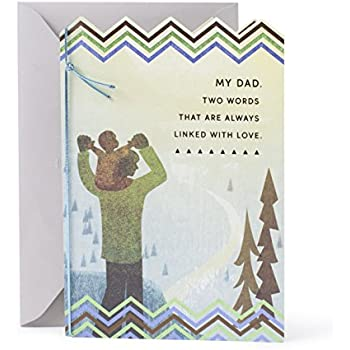 Hallmark Mahogany Birthday Greeting Card For Father Ive Always Known You Loved Me