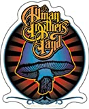 Licenses Products Allman Brothers Radiant Shroom Sticker