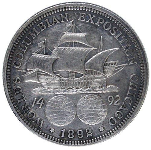 1892 Columbian Exposition Half Dollar Commemorative 50C AU