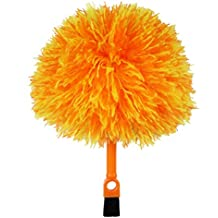 FoVo Fluffy Microfiber Delicate Duster Cleaning Brush Two Ends Keyboard Notebook Computer Oa Devices Telephone Car Picture Frames Perfume Bottles Kitchen Cat Hair Silk Plants Light Fixtures