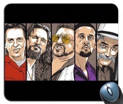 The Big Lebowski V4 Mouse Pad