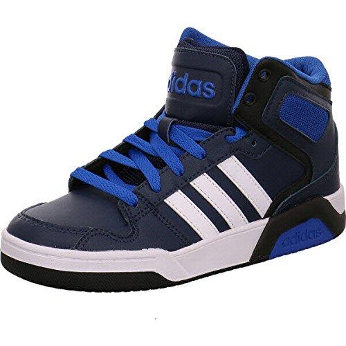 adidas Jungen BB9TIS K Turnschuhe, Azul (Maruni / Ftwbla / Azul), 39 1/3 EU