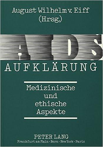 Book AIDS-Aufklaerung: Medizinische Und Ethische Aspekte