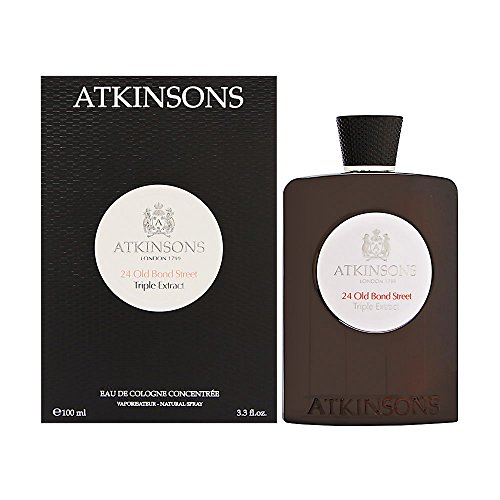 Atkinsons 24 Old Bond Street Triple Extract EDC 3.3 fl oz 100ml New Sealed by Atkinson's