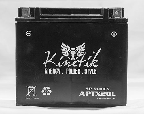 12V 18Ah Battery for Kawasaki Jet Ski JT1500B, C, 250X, Ultra LX 2007-09 by Kinetik
