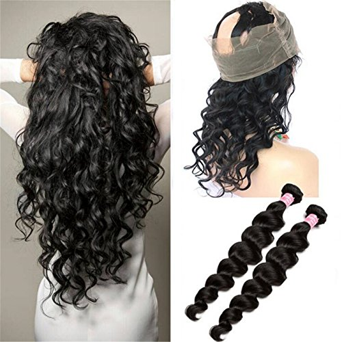 ATOZWIG-Pre-Plucked-360-Lace-Frontal-Closure-with-Bundles-Peruvian-Virgin-Hair-with-360-Closure-Loose-Wave-360-Lace-Frontal-with-Bundle
