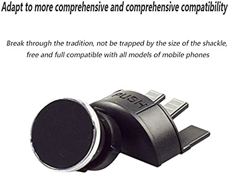 Ritebuyproducts 1234 Universal Magnetic Phone Holder Cd Slot Mount Car Air Vent 360 Degree Rotating Magnet Phone Stand Qshenshop