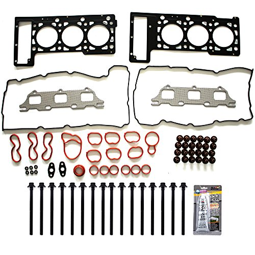 Chrysler Concorde Set - ECCPP Compatible fit for Head Gasket Set with Bolts for 2001-2010 Chrysler Sebring Concorde 2.7L Automotive Replacement Engine Head Gaskets Bolt
