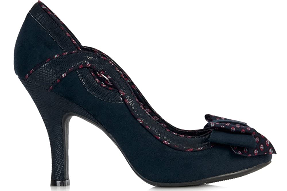 b37de3a37eebb IVY (Navy) by Ruby Shoo - Size 5/38: Amazon.co.uk: Shoes & Bags
