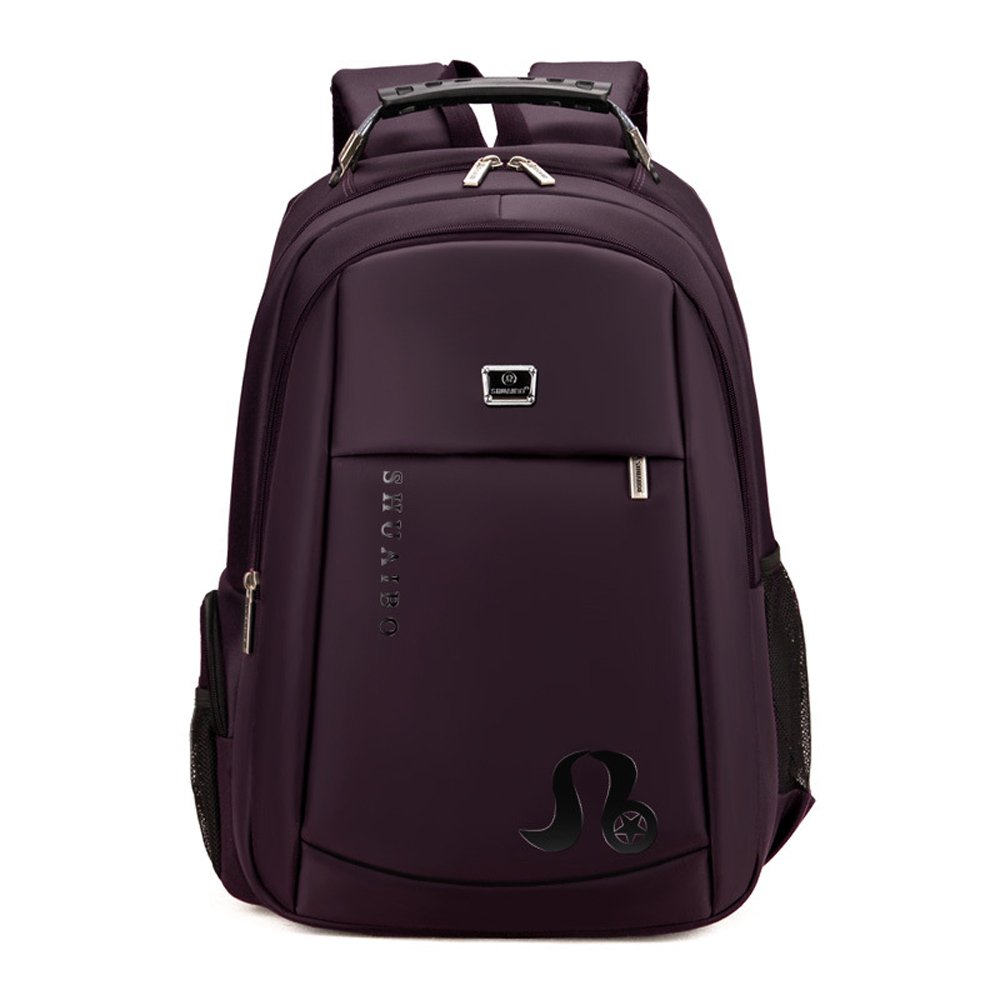 4668fd0121 Amazon.com  Mocha weir SHUAIBO 25L Laptops College Travel Backpack  shoulders Bag (2.Purple)  Computers   Accessories