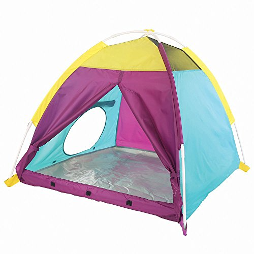 Pacific Play Tents 22203 Kids My First Fun Dome Tent/Playhouse, 42 x 42 x 36, Purple/Blue/Yellow