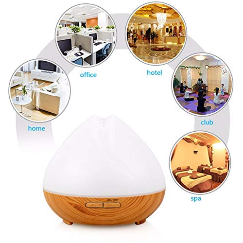 New Arrival Popular Essential Oil 7 Light Portable Aroma 400 Air Purifier