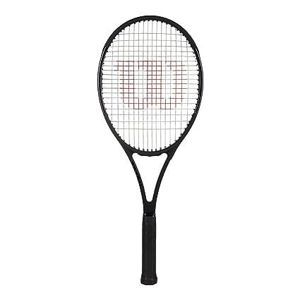 Amazon Com Wilson Pro Staff 97 Black Tennis Racquet 4 1 2 Grip