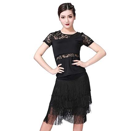 ChYoung Salsa de Mujer Salsa Jive Danza Disfraces Deportivos ...