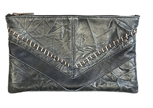 Borsa Pochette Donna Alexade in vera pelle 100% Made in Italy
