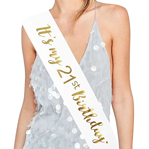 21st Birthday Sashes - ADBetty