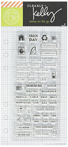 Hero Arts CL915 Kelly's Home Planner Craft Supplies by Hero Arts