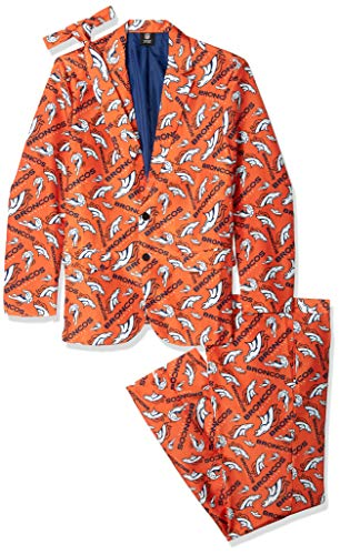 Denver Broncos Repeat Ugly Business Suit - Mens Size 48