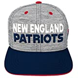 NFL by Outerstuff NFL New England Patriots Youth Boys Space Dye Snapback Hat Heather Grey, Youth One Size