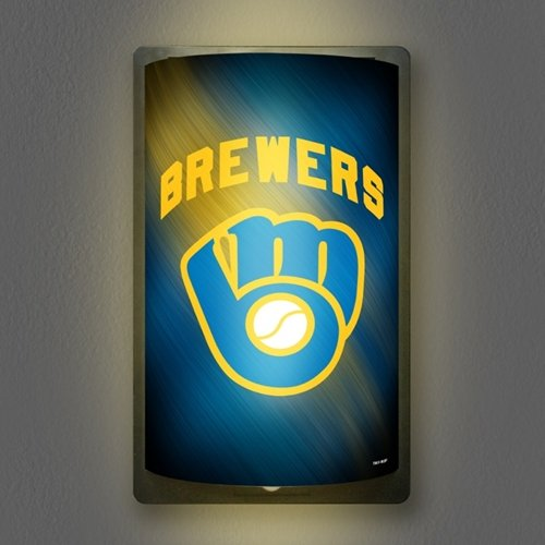Party Animal Milwaukee Brewers MotiGlow Light Up Sign …