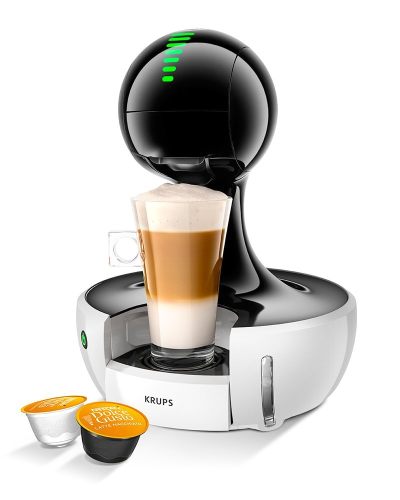 krups nescafe dolce gusto drop touch coffee machine white kp350140 ebay. Black Bedroom Furniture Sets. Home Design Ideas