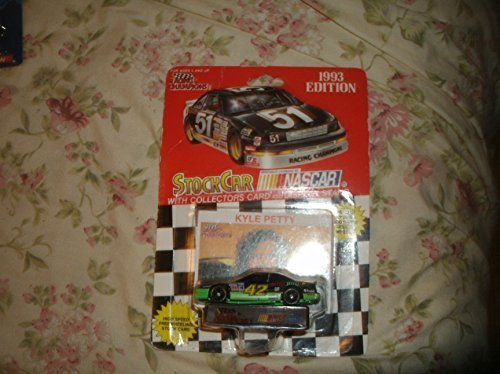 1993 Racing Champions Nascar Kyle Petty #42 Mello Yello Rare Die Cast with Collectors Card & Display Stand by Racing Champions