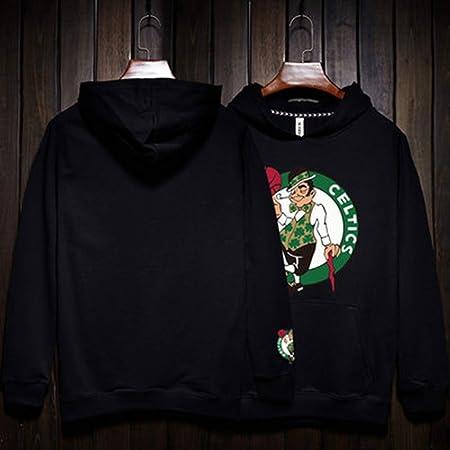 SMLSMGS Hombres Sudadera celtas/tío dibujó Baloncesto Jersey con ...