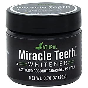 The secret is the combination of Natural Activated Coconut Charcoal, Bentonite Powder, and Orange Seed Oil that lifts, extracts, and removes years of yellowing and stains! Miracle Teeth Whitener is completely natural and gentle on teeth and gums. It ...