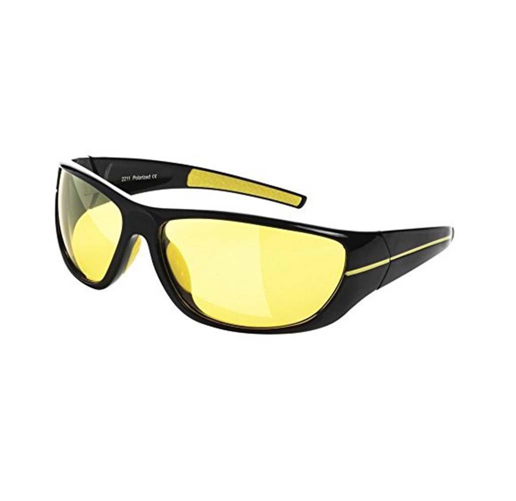 ナイトビジョンメガネ デラックスアンチグレアuv400偏光HDナイトビジョンメガネ安全運転   B07768QQ9F