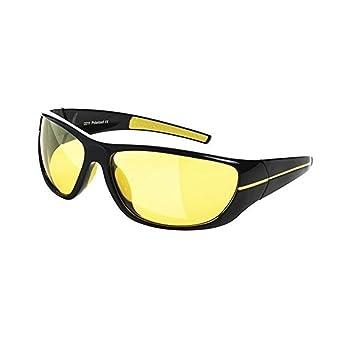 Visión nocturna gafas | Deluxe antideslumbrante UV400 polarizadas HD visión nocturna gafas seguridad conducción