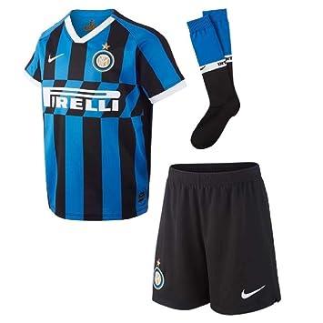 half off 0a82f 56514 Nike 2019-2020 Inter Milan Home Little Boys Mini Kit: Amazon ...