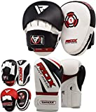 RDX Boxing Pads and Gloves Set | Hook and Jab