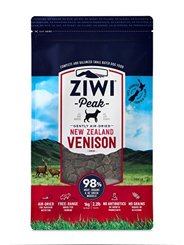 Ziwi Peak Air-Dried Venison Recipe Dog Food (2.2lb)