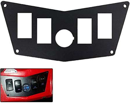 STV Motorsports Polaris RZR Aluminum Black Dash Panel 800S 900xp