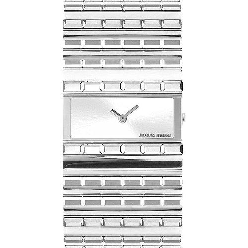 Jacques Lemans Venus 1-1308B mm Steel Bracelet & Case Mineral Women's Watch